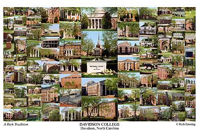 Davidson College Campus Art Prints Photos Posters
