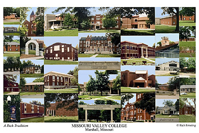 Missouri Valley College Campus Art Print