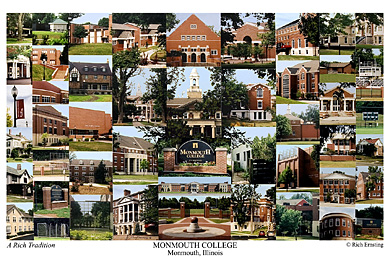 Monmouth College Campus Art Print