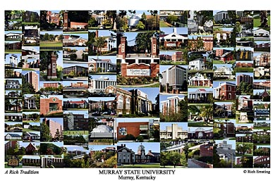 Murray State University Campus Art Print