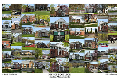 Nichols College Campus Art Prints Photos Posters