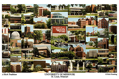 University of Missouri-St. Louis Campus Art Print