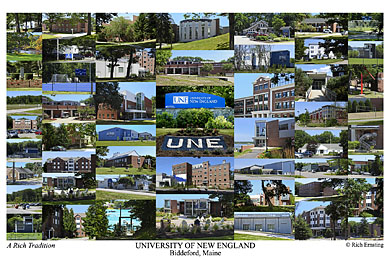 University of New England Biddeford Campus Art Print