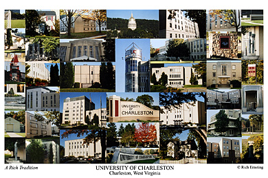 University of Charleston Campus Art Print