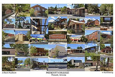 Prescott College Campus Art Print