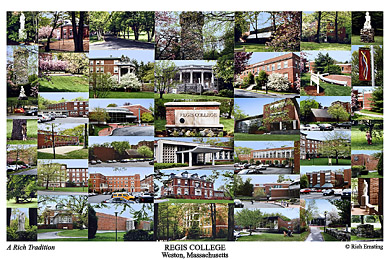 Regis College Campus Art Prints Photos Posters