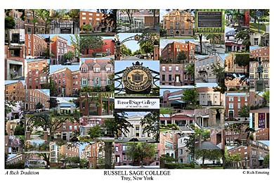 Russell Sage College Campus Art Print