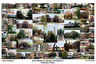 Southern Illinois University @ Carbondale Campus Art Print