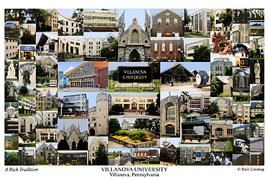 Villanova University Campus Art Print