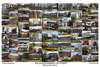 William Paterson Campus Art Print