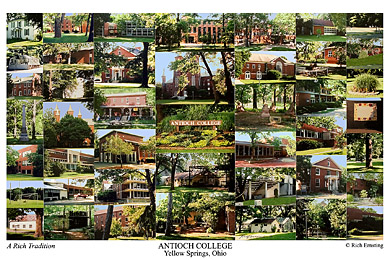 Antioch College Campus Art Print
