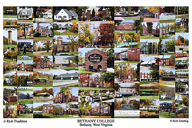 Bethany College Campus Art Print
