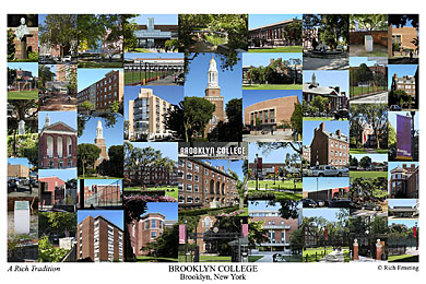 Brooklyn College Campus Art Print