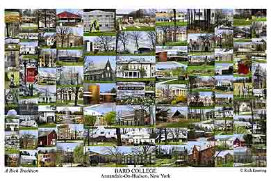 Bard College Campus Art Print