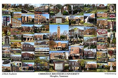 Christian Brothers University Campus Art Print