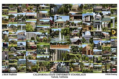 California State University, Stanislaus Campus Art Print