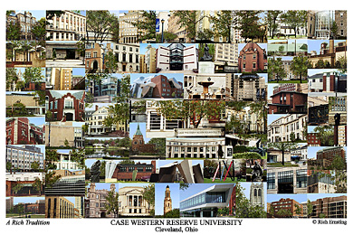 Case Western Reserve University Campus Art Prints Photos