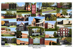 Defiance College Campus Art Print