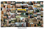 Drexel University Campus Art Print