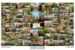 Davidson College Campus Art Print