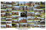 Framingham State University Campus Art Print