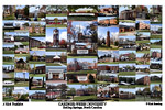 Gardner-Webb University Campus Art Print