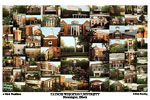 Illinois Wesleyan University Campus Art Print