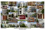Indiana University School of Law Campus Art Print