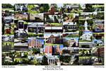 Iona College Campus Art Print