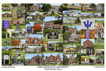 Iowa Wesleyan University Campus Art Print