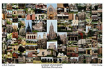 Lehigh University Campus Art Print