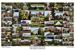Lycoming College Campus Art Print