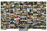 Mars Hill College Campus Art Print