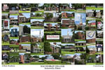 MacMurray College Campus Art Print