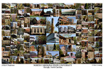 North Carolina State University Campus Art Print