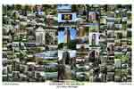 University of Michigan Campus Art Print