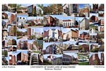 University of Maryland, Baltimore Campus Art Print