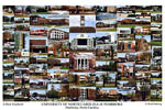 University of North Carolina Pembroke Campus Art Print