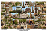 University of Pittsburgh Campus Art Print