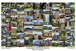 University of Puget Sound Campus Art Print