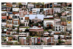 University of Southern Mississippi Campus Art Print
