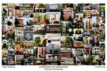 University of Scranton Campus Art Print
