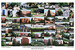 University of Wisconsin-Eau Claire Campus Art Print