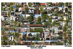 University of Arkansas Campus Art Print