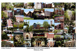 Ohio Wesleyan University Campus Art Print