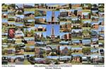 Oklahoma Christian University Campus Art Print