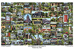 Otterbein University Campus Art Print