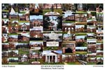 Pfeiffer University Campus Art Print
