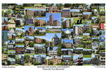 Plymouth State University Campus Art Print