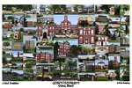 Quincy University Campus Art Print